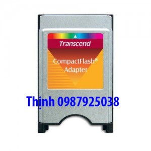 Adapter PCMCIA transcend