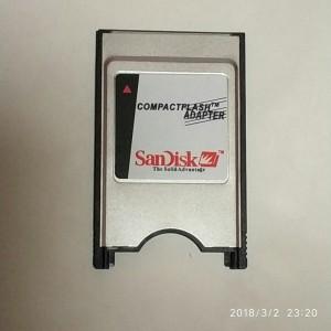 Đầu đọc thẻ PCMCIA adapter