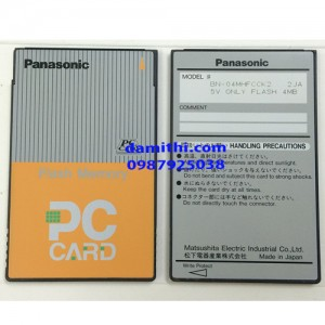Flash ATA PC Card Panasonic 4MB
