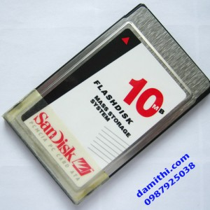 Flash ata pcmcia sandisk 10Mb