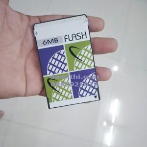Flash pcmcia 6mb