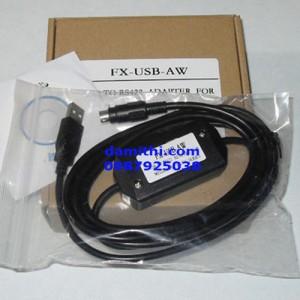 Cáp lập trình PLC Mitsubishi FX-USB-AW