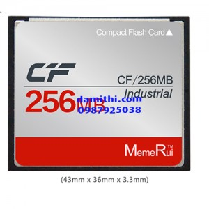 Cf card 256mb industrial