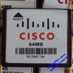 Thẻ CF Card 64mb cisco