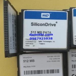 Thẻ nhớ CF Card 512MB PATA Silicondriver WD